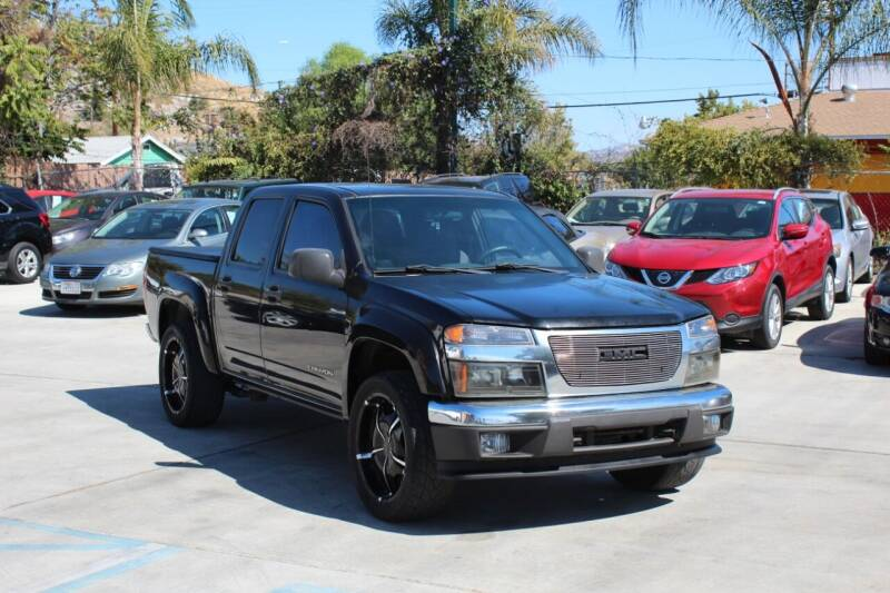 2005 GMC Canyon for sale at Car 1234 inc in El Cajon CA
