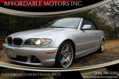 2004 BMW 3 Series for sale at AFFORDABLE MOTORS INC in Winston Salem NC