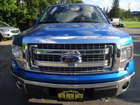 2013 Ford F-150 for sale at MOUNTAIN VIEW AUTO in Lyndonville VT