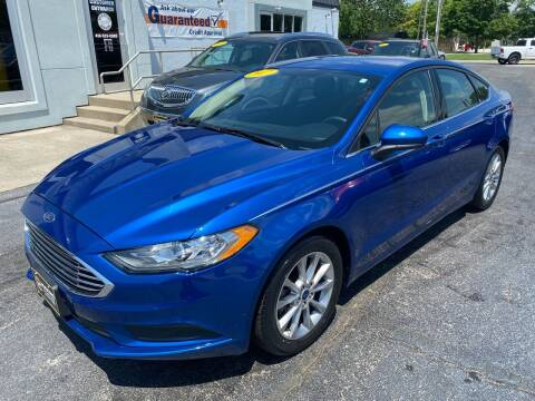2017 Ford Fusion for sale at Huggins Auto Sales in Ottawa OH