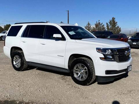 2016 Chevrolet Tahoe for sale at BERKENKOTTER MOTORS in Brighton CO