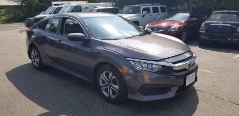 2018 Honda Civic for sale at Central Jersey Auto Trading in Jackson NJ