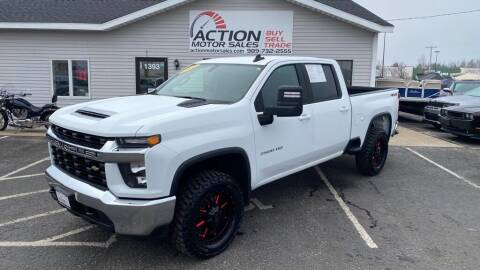 2020 Chevrolet Silverado 3500HD for sale at Action Motor Sales in Gaylord MI