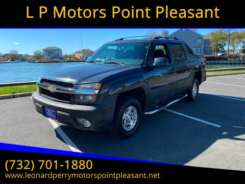 2004 Chevrolet Avalanche for sale at L P Motors Point Pleasant in Point Pleasant NJ