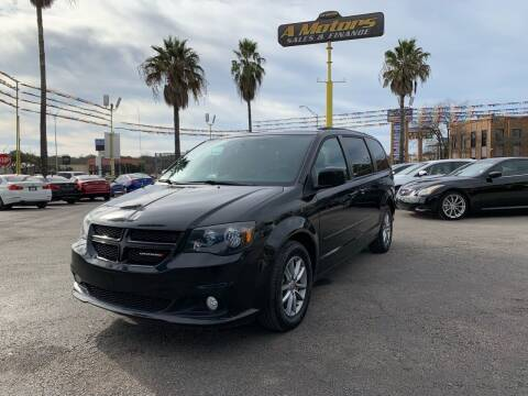 2014 Dodge Grand Caravan for sale at A MOTORS SALES AND FINANCE in San Antonio TX