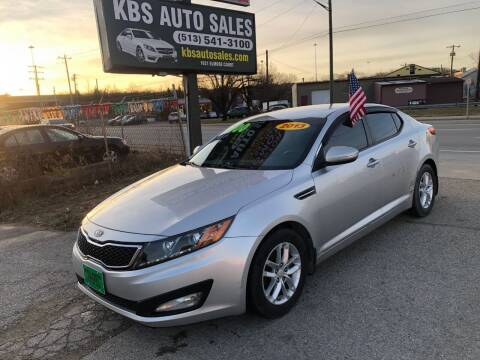 2013 Kia Optima for sale at KBS Auto Sales in Cincinnati OH