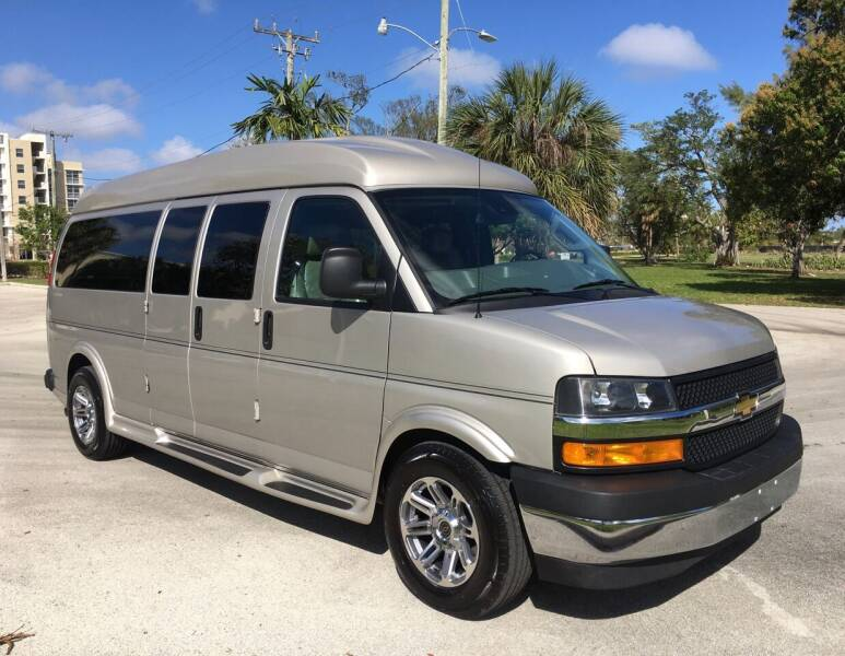 2019 Chevrolet Express Cargo for sale at FIRST FLORIDA MOTOR SPORTS in Pompano Beach FL