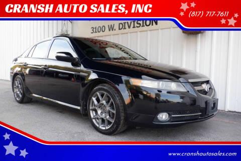 2007 Acura TL for sale at CRANSH AUTO SALES, INC in Arlington TX