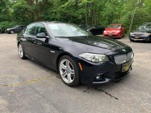 2014 BMW 5 Series for sale at Bladecki Auto LLC in Belmont NH