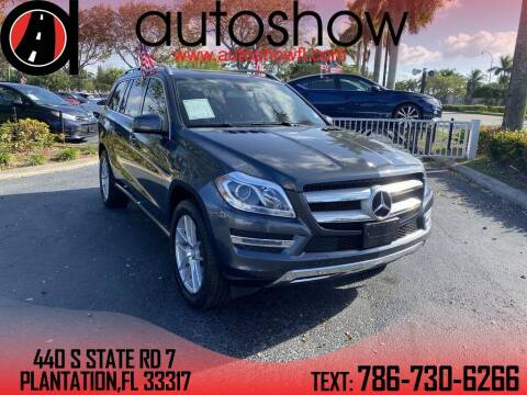 2015 Mercedes-Benz GL-Class for sale at AUTOSHOW SALES & SERVICE in Plantation FL