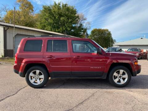 2014 Jeep Patriot for sale at RIVERSIDE AUTO SALES in Sioux City IA