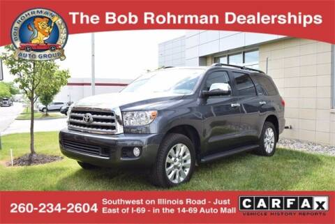 2017 Toyota Sequoia for sale at BOB ROHRMAN FORT WAYNE TOYOTA in Fort Wayne IN