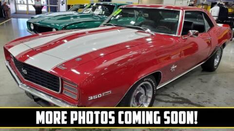 1969 Chevrolet Camaro for sale at UNIQUE SPECIALTY & CLASSICS in Mankato MN