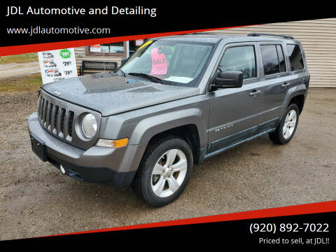 2011 Jeep Patriot for sale at JDL Automotive and Detailing in Plymouth WI