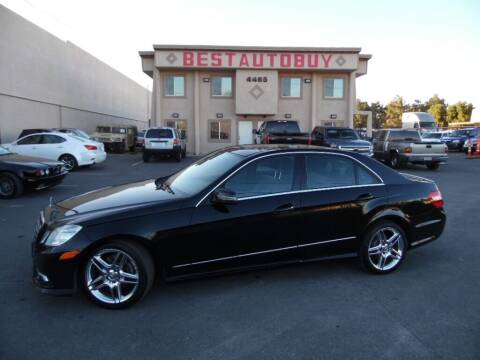 2011 Mercedes-Benz E-Class for sale at Best Auto Buy in Las Vegas NV