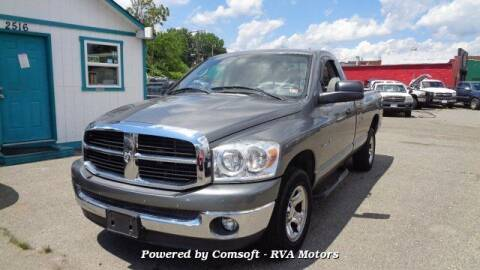2007 Dodge Ram Pickup 1500 for sale at RVA MOTORS in Richmond VA
