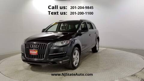2014 Audi Q7 for sale at NJ State Auto Used Cars in Jersey City NJ