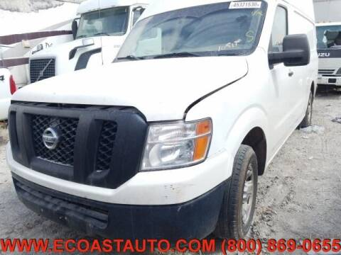 2012 Nissan NV Cargo for sale at East Coast Auto Source Inc. in Bedford VA
