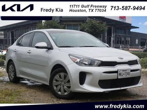 2019 Kia Rio for sale at FREDY KIA USED CARS in Houston TX