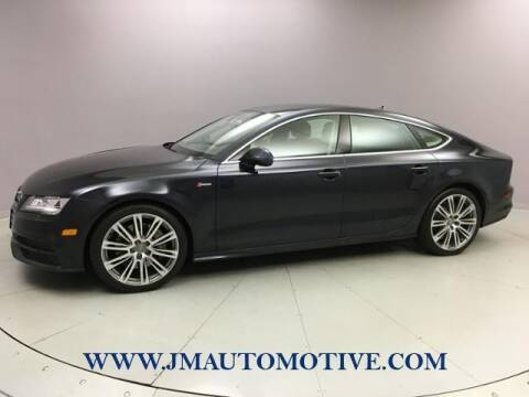 2014 Audi A7 for sale at J & M Automotive in Naugatuck CT