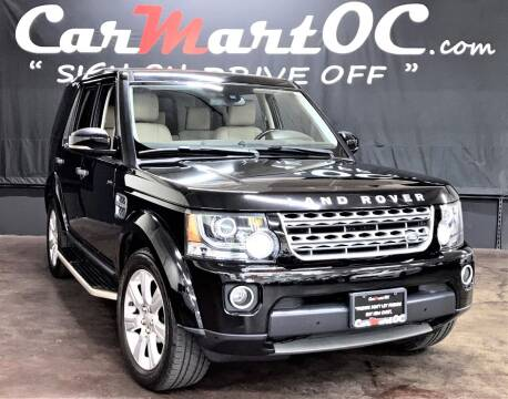 2015 Land Rover LR4 for sale at CarMart OC in Costa Mesa CA