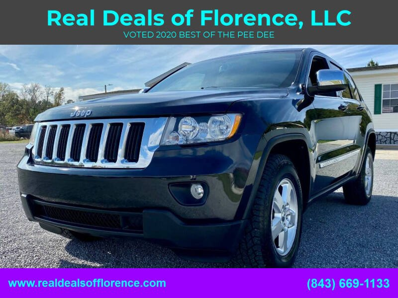2012 Jeep Grand Cherokee for sale at Real Deals of Florence, LLC in Effingham SC