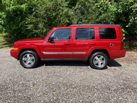 2010 Jeep Commander for sale at Top Notch Auto & Truck Sales in Gilmanton NH
