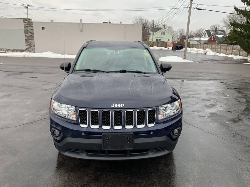 2012 Jeep Compass for sale at L.A. Automotive Sales in Lackawanna NY