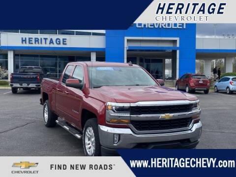 2018 Chevrolet Silverado 1500 for sale at HERITAGE CHEVROLET INC in Creek MI