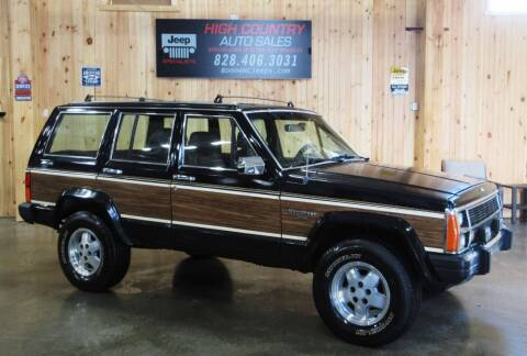 1988 Jeep Wagoneer for sale at Boone NC Jeeps-High Country Auto Sales in Boone NC