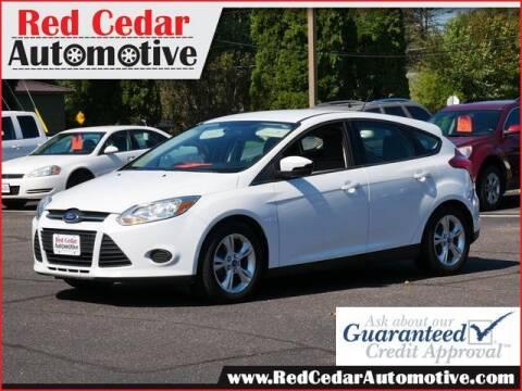2013 Ford Focus for sale at Red Cedar Automotive in Menomonie WI