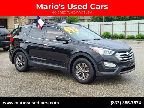 2014 Hyundai Santa Fe Sport for sale at Mario's Used Cars - Pasadena Location in Pasadena TX