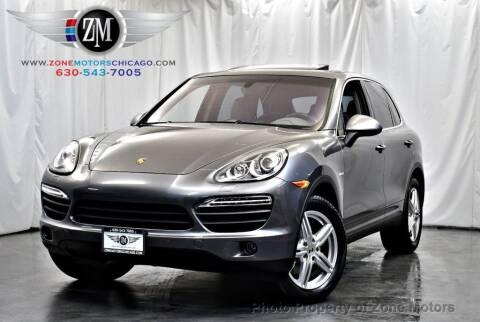 2012 Porsche Cayenne for sale at ZONE MOTORS in Addison IL