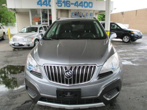 2015 Buick Encore for sale at Elite Auto Sales in Willowick OH
