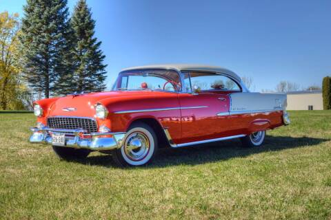 1955 Chevrolet Bel Air for sale at Hooked On Classics in Watertown MN