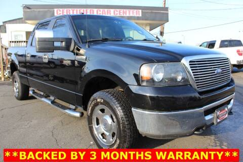 2008 Ford F-150 for sale at CERTIFIED CAR CENTER in Fairfax VA
