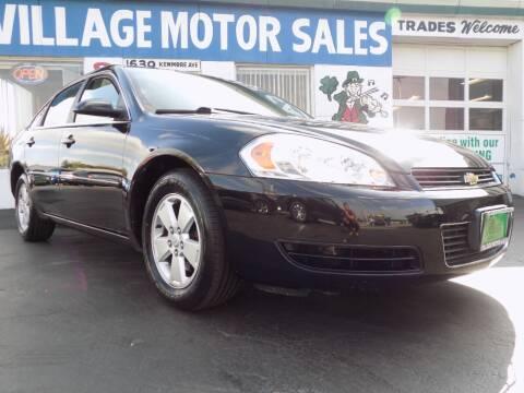 2008 Chevrolet Impala for sale at Village Motor Sales in Buffalo NY