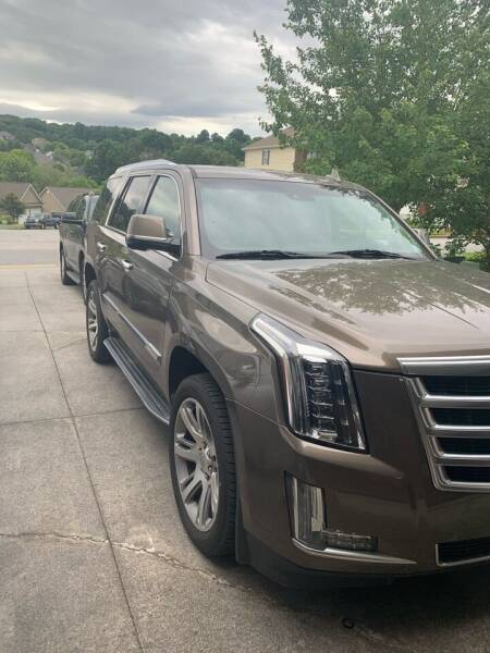 2016 Cadillac Escalade for sale at Richards's Auto Sales & Salvage in Denton NC