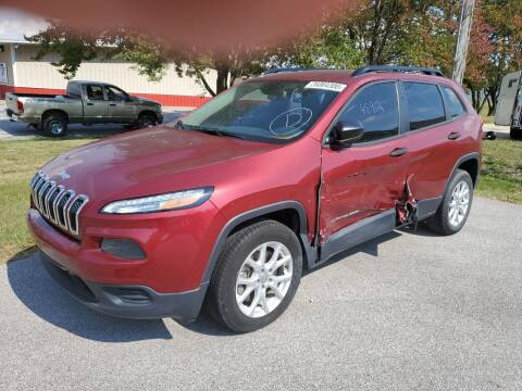 2015 Jeep Cherokee for sale at RT Auto Center Missouri in Palmyra MO