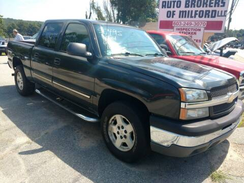 2004 Chevrolet Silverado 1500 for sale at Auto Brokers of Milford in Milford NH