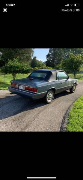 1986 Dodge 600 for sale at Waltz Sales LLC in Gap PA