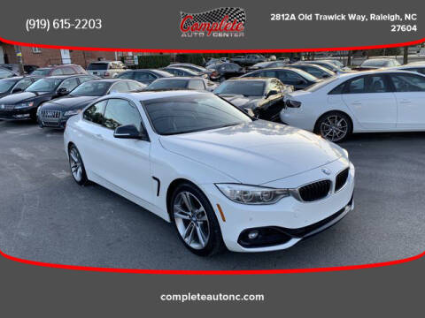 2014 BMW 4 Series for sale at Complete Auto Center , Inc in Raleigh NC