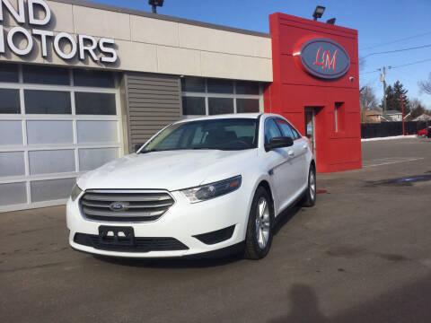 2016 Ford Taurus for sale at Legend Motors of Detroit in Detroit MI