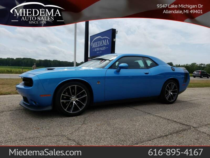 2016 Dodge Challenger for sale at Miedema Auto Sales in Allendale MI