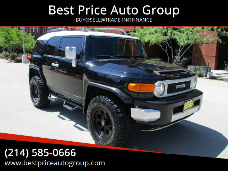 2007 Toyota FJ Cruiser for sale at Best Price Auto Group in Mckinney TX