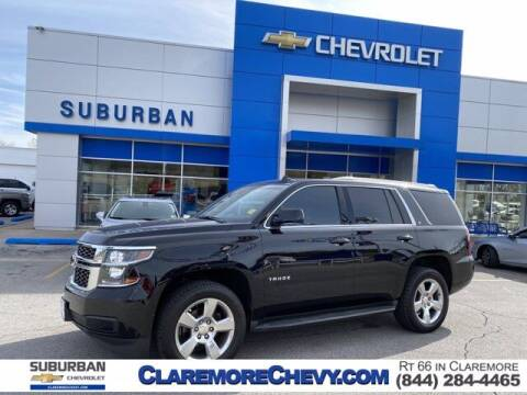 2015 Chevrolet Tahoe for sale at Suburban Chevrolet in Claremore OK