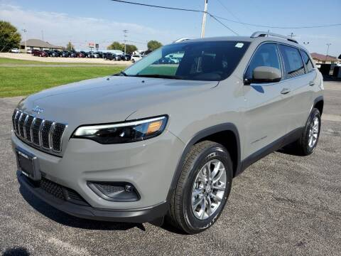 2021 Jeep Cherokee for sale at Art Hossler Auto Plaza Inc - New Chrysler in Canton IL