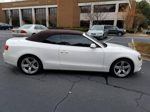 2013 Audi A5 for sale at C & J International Motors in Duluth GA