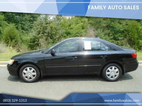 2010 Hyundai Sonata for sale at Family Auto Sales in Rock Hill SC