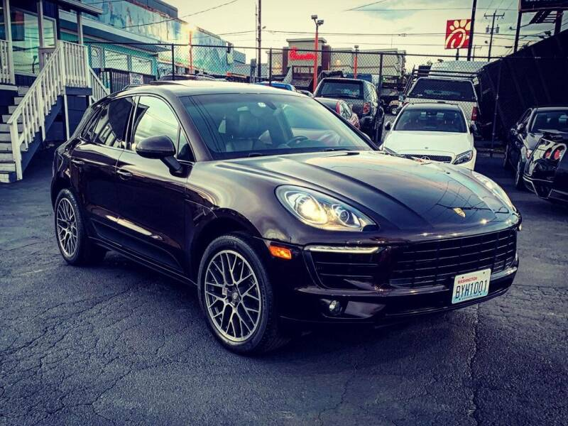 2016 Porsche Macan for sale at First Union Auto in Seattle WA